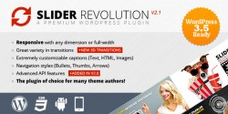 Slider revolution responsive wordpress