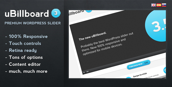 uBillboard - Premium Slider for WordPress