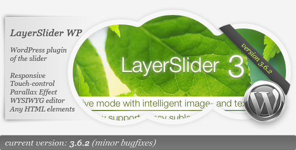 WordPress Parallax Slider LayerSlider
