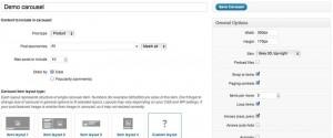 Wordpress carouse options