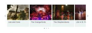 post carousel with thumbnails wordpress