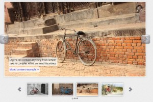 HTML and video and images slider WP