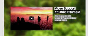 embed youtube videos slider