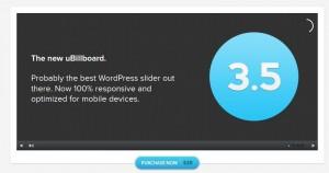 ubillboard picture slider wordpress