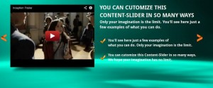 slide with video player