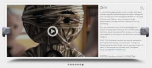 Wordpress video slider